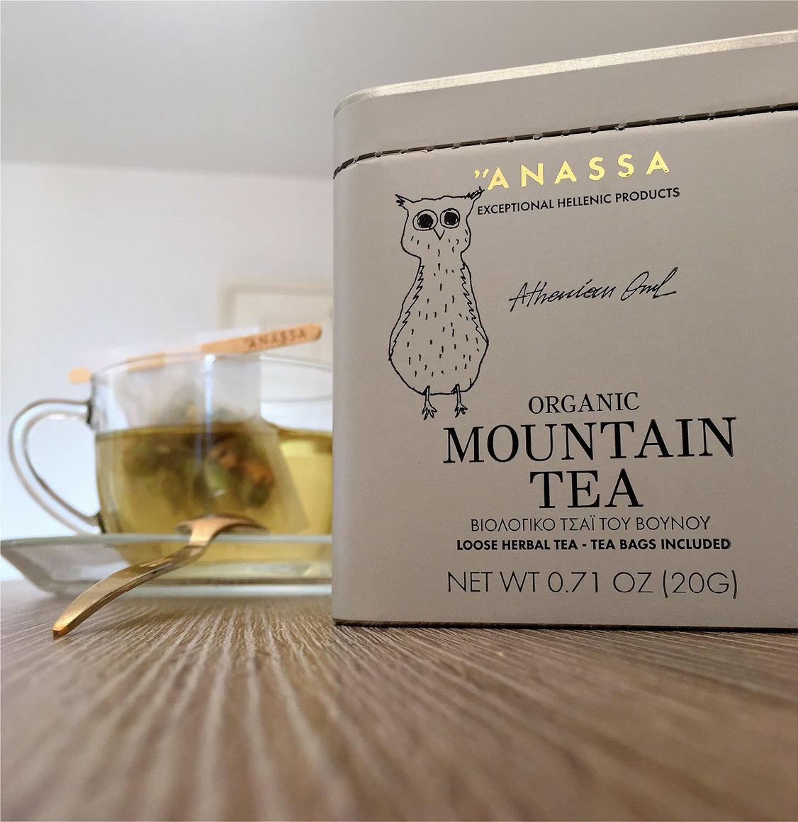 Organics Tin Βιολογικό Τσάι Του Βουνού Anassa