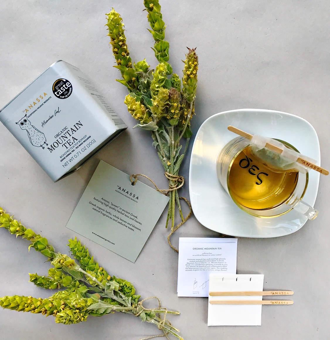 Anassa Organics Tin Βιολογικό Τσάι Του Βουνού