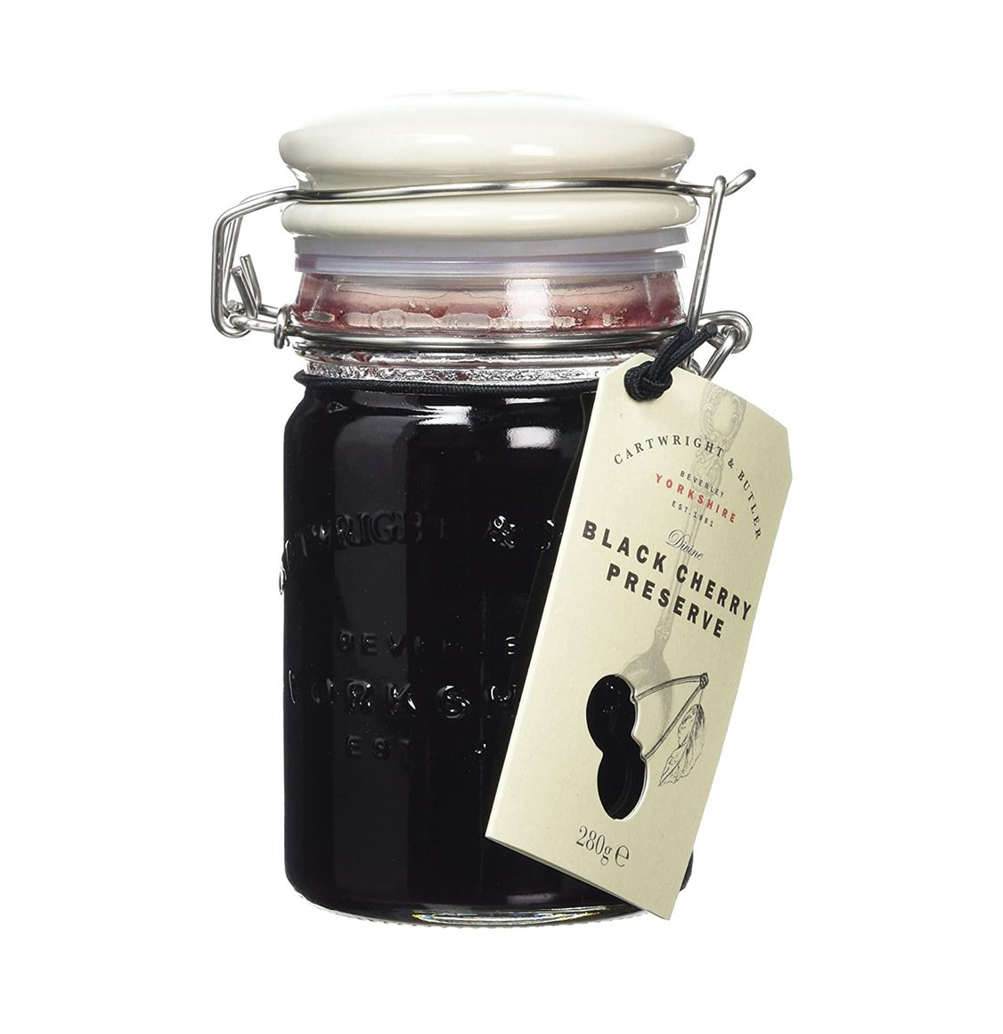 Cartwright and Butler Black Cherry Preserve 280g