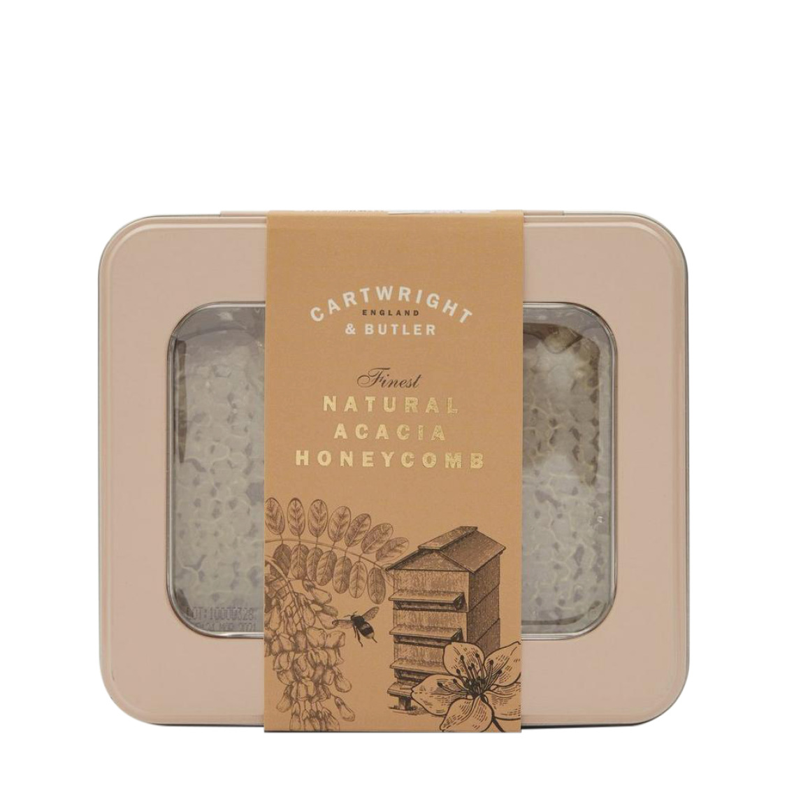 Cartwright and Butler Acacia Honeycomb in Window Tin 450g