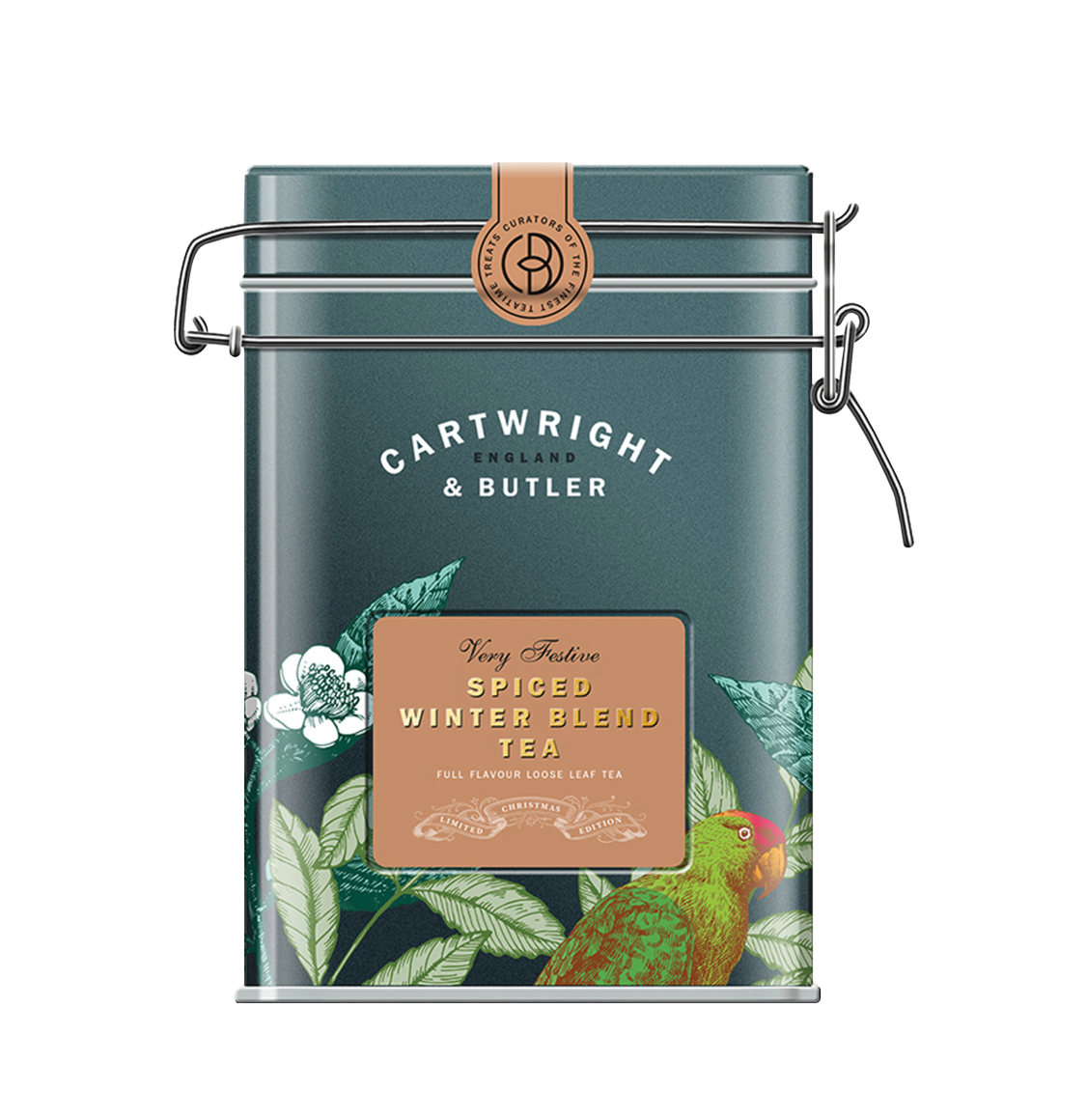 Cartwright and Butler Spiced Winter Black Blend Tea 100g