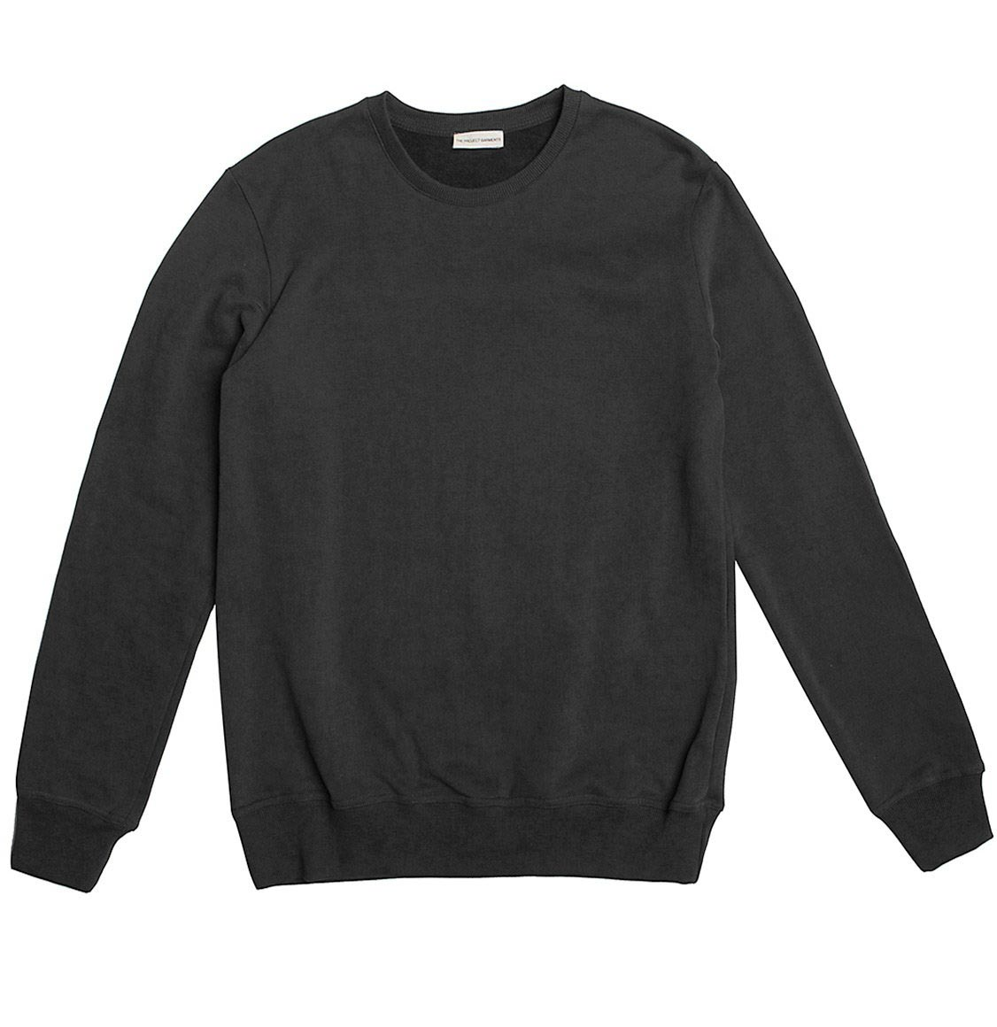 Crew Neck Sweatshirt Charcoal Grey