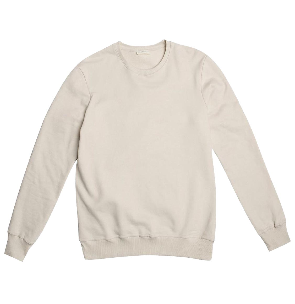 Crew Neck Sweatshirt Cream