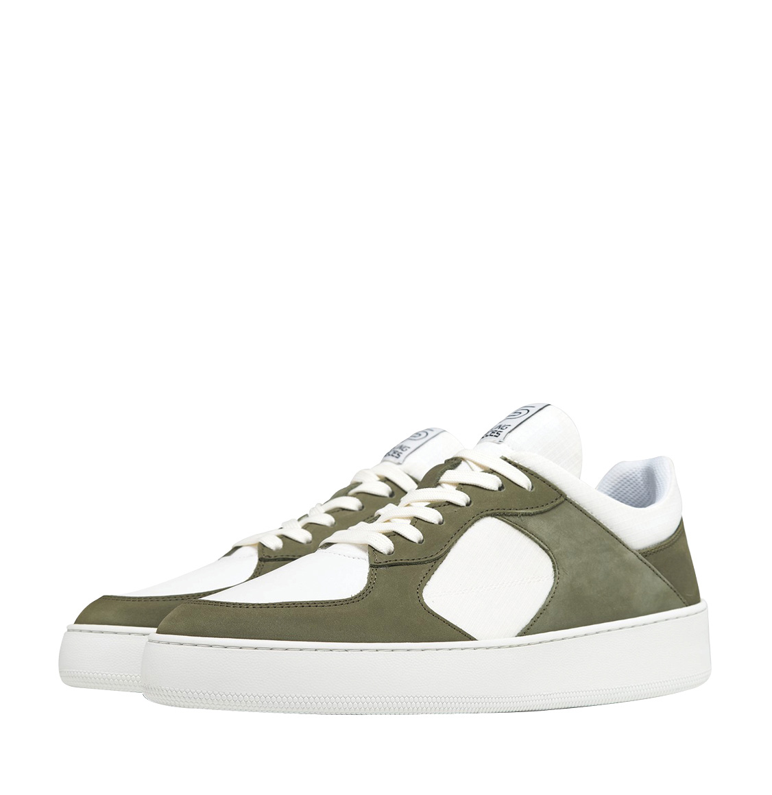 Filling Pieces Low Cage GF Linus Dark Green