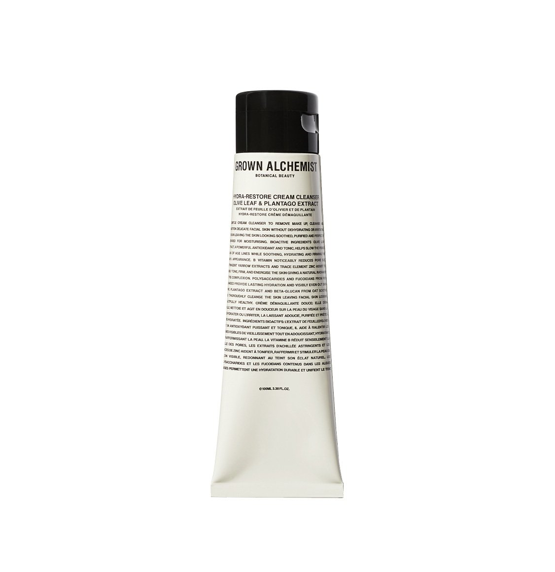 Grown Alchemist Hydra-Restore Cream Cleanser Olive Leaf Plantago Extract 100ml
