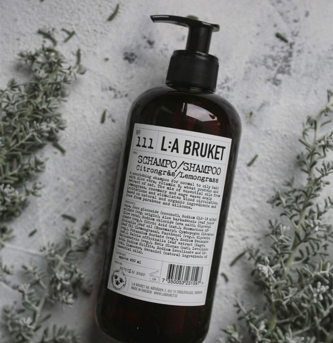 LA Bruket 111 Σαμπουάν Lemongrass 250ml