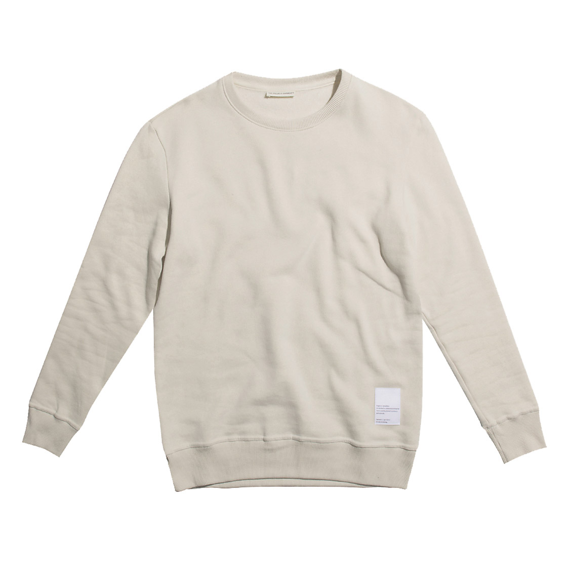 Logomania Crew Neck Sweatshirt Cream