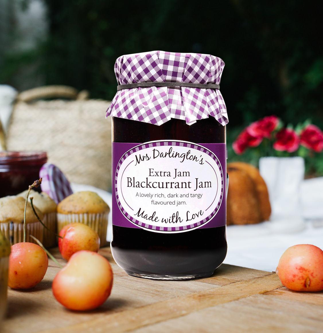 Mrs Darlington's Extra Jam Μαρμελάδα Φραγκοστάφυλου