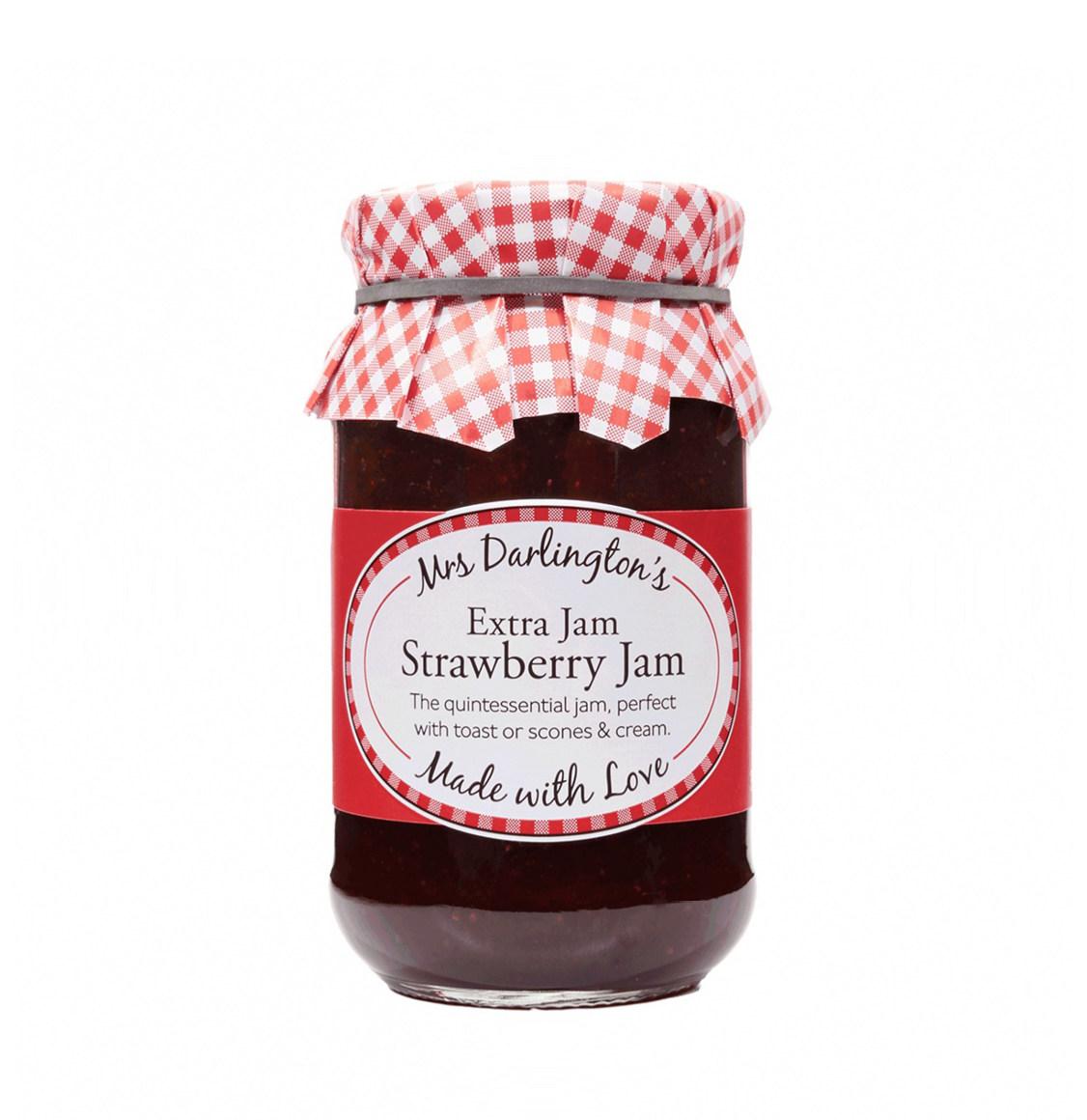 Mrs Darlington's Extra Jam Μαρμελάδα Φράουλα