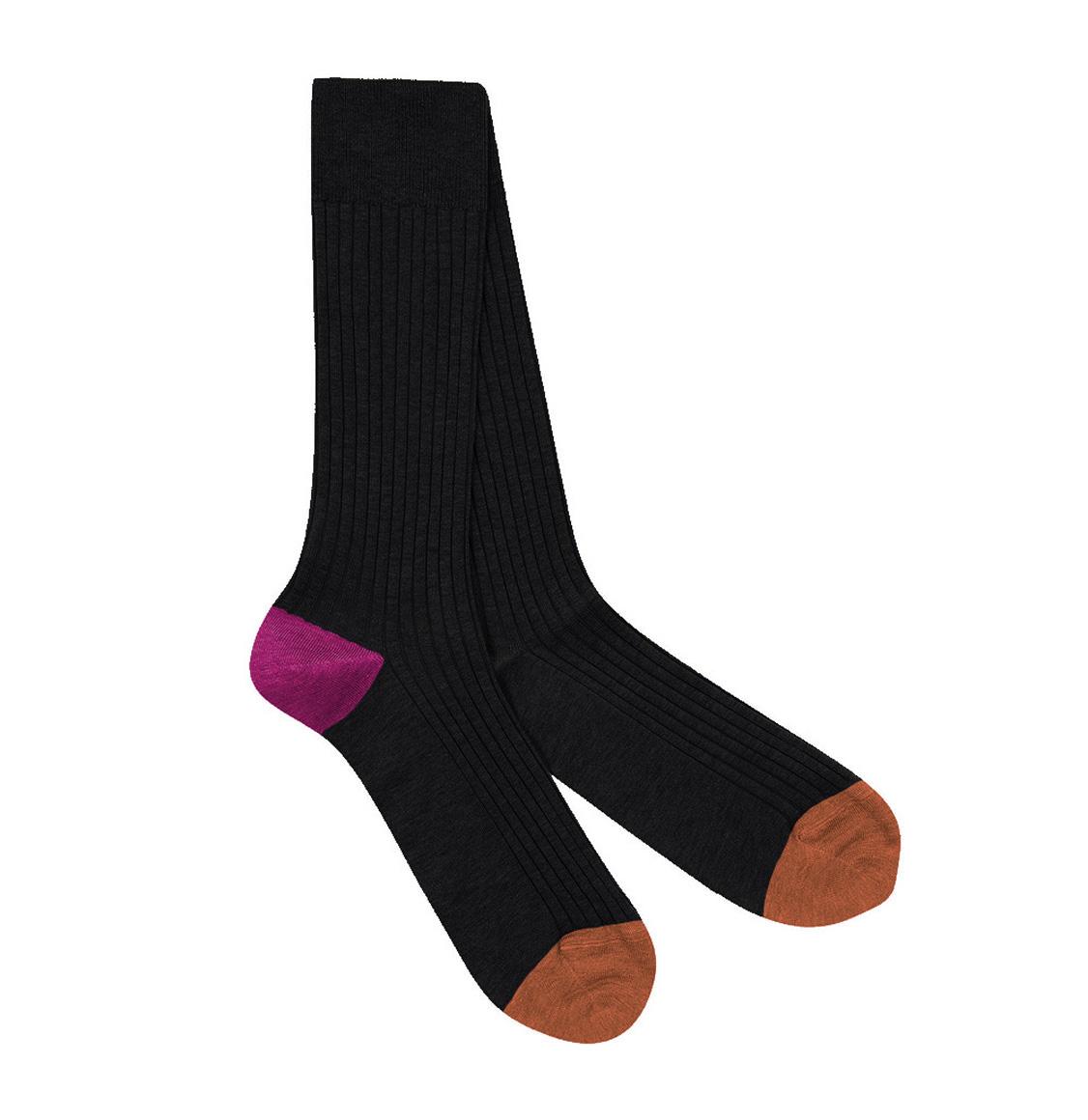 Pantherella Socks Portobello Black