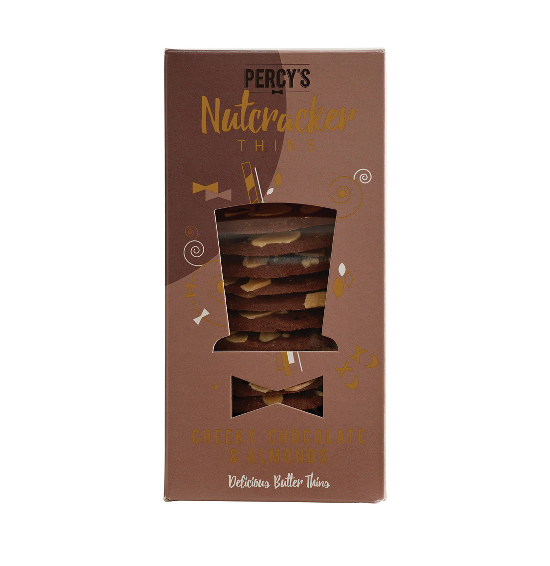 Percy's Bakery Cheeky Chocolate And Almonds 80g