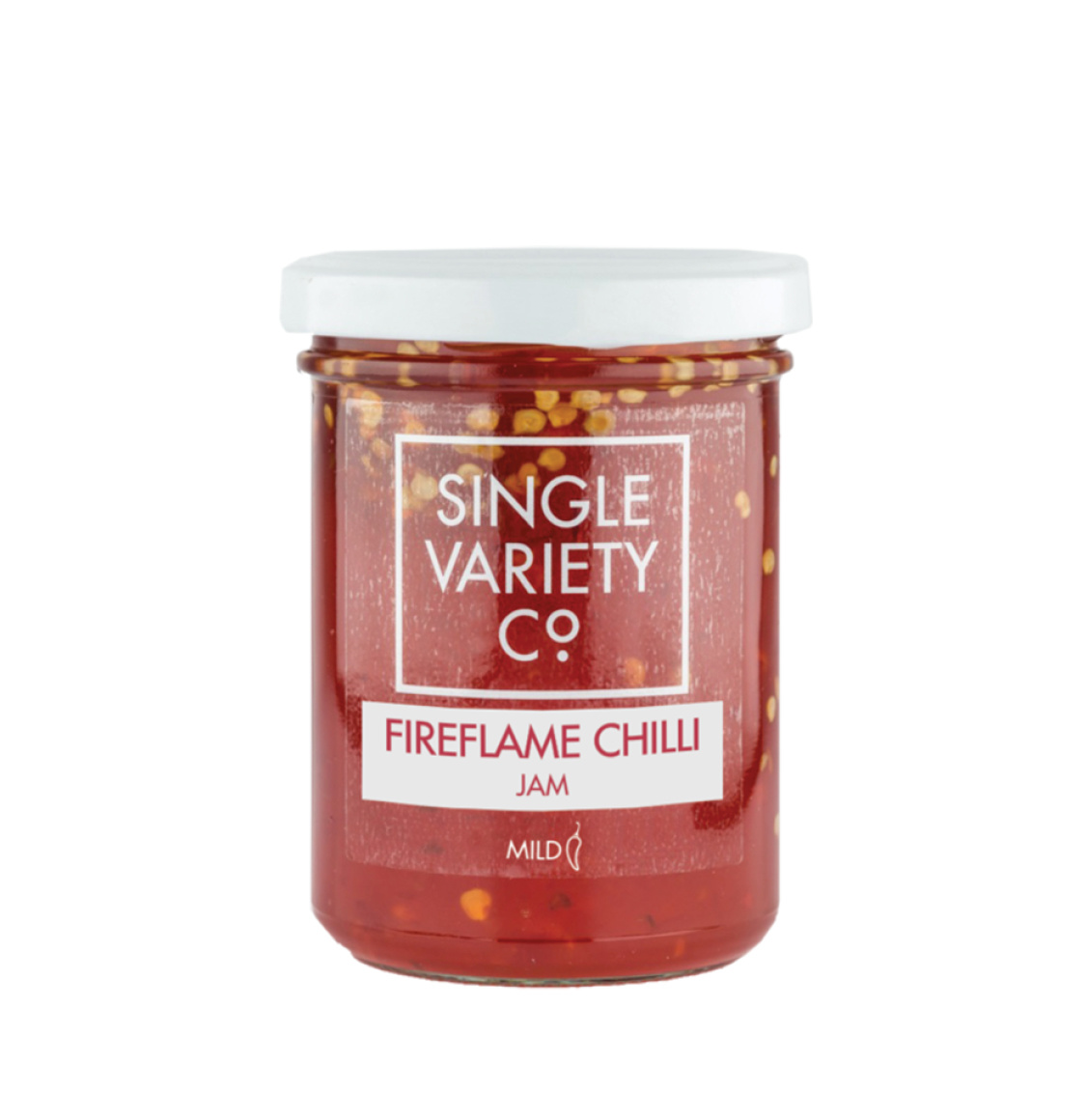 Single Variety Co Fireflame Mild Chilli Jam 220g