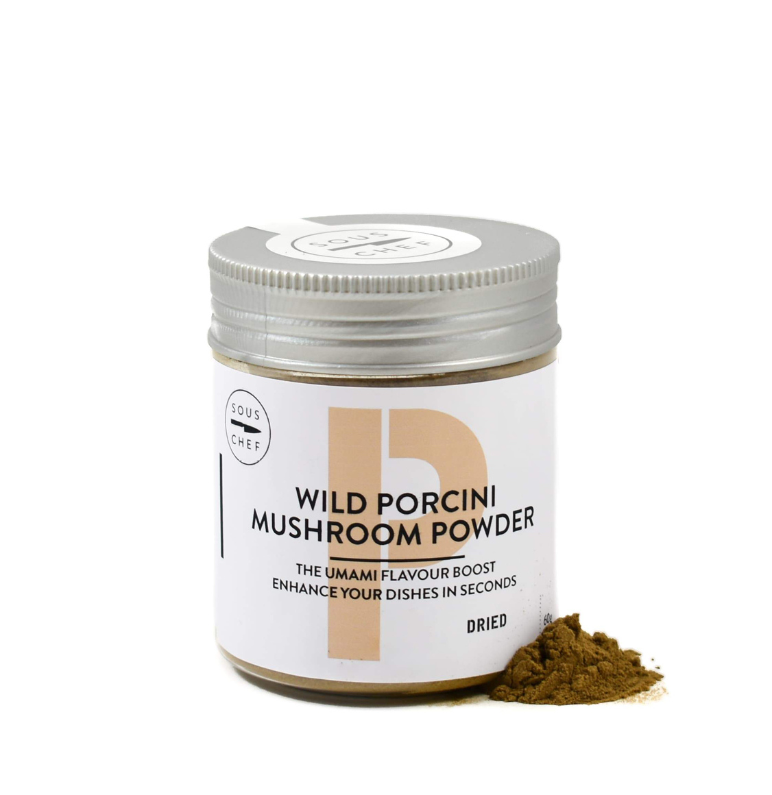 Sous Chef Dried Wild Porcini Mushroom Powder 60g