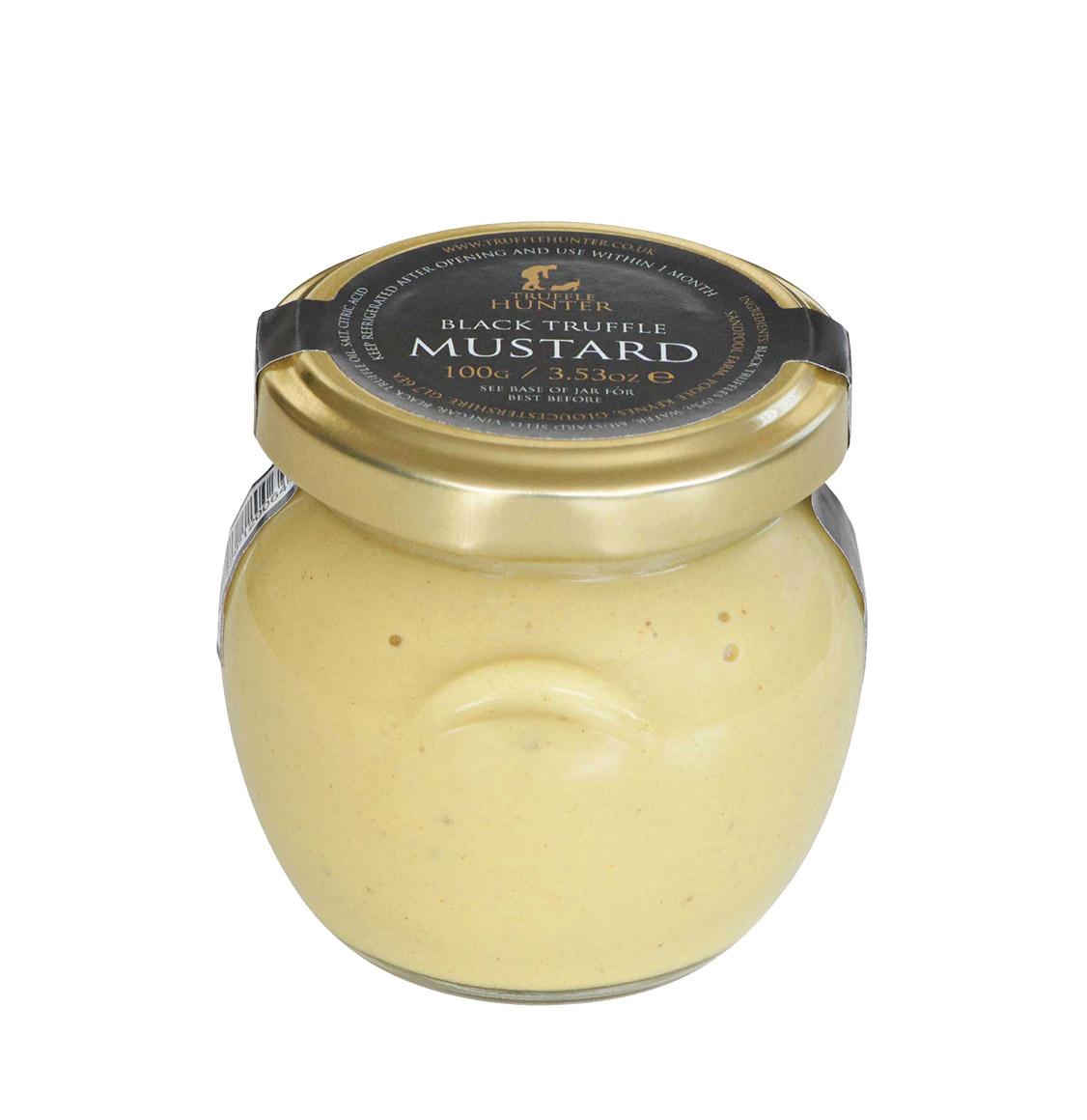TruffleHunter Μουστάρδα Μαύρης Τρούφας Black Truffle Mustard 100g