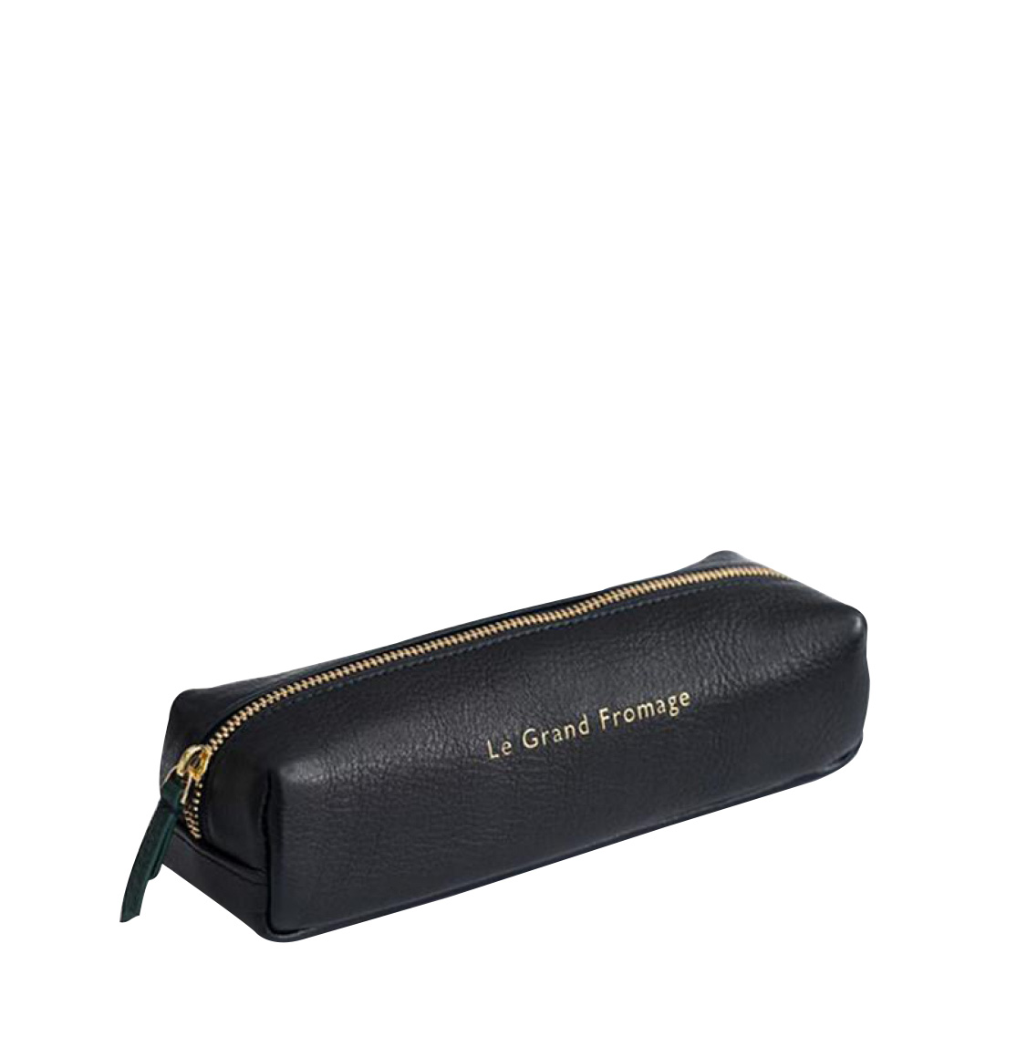 Not Another Bill Leather Pencil Case Blue