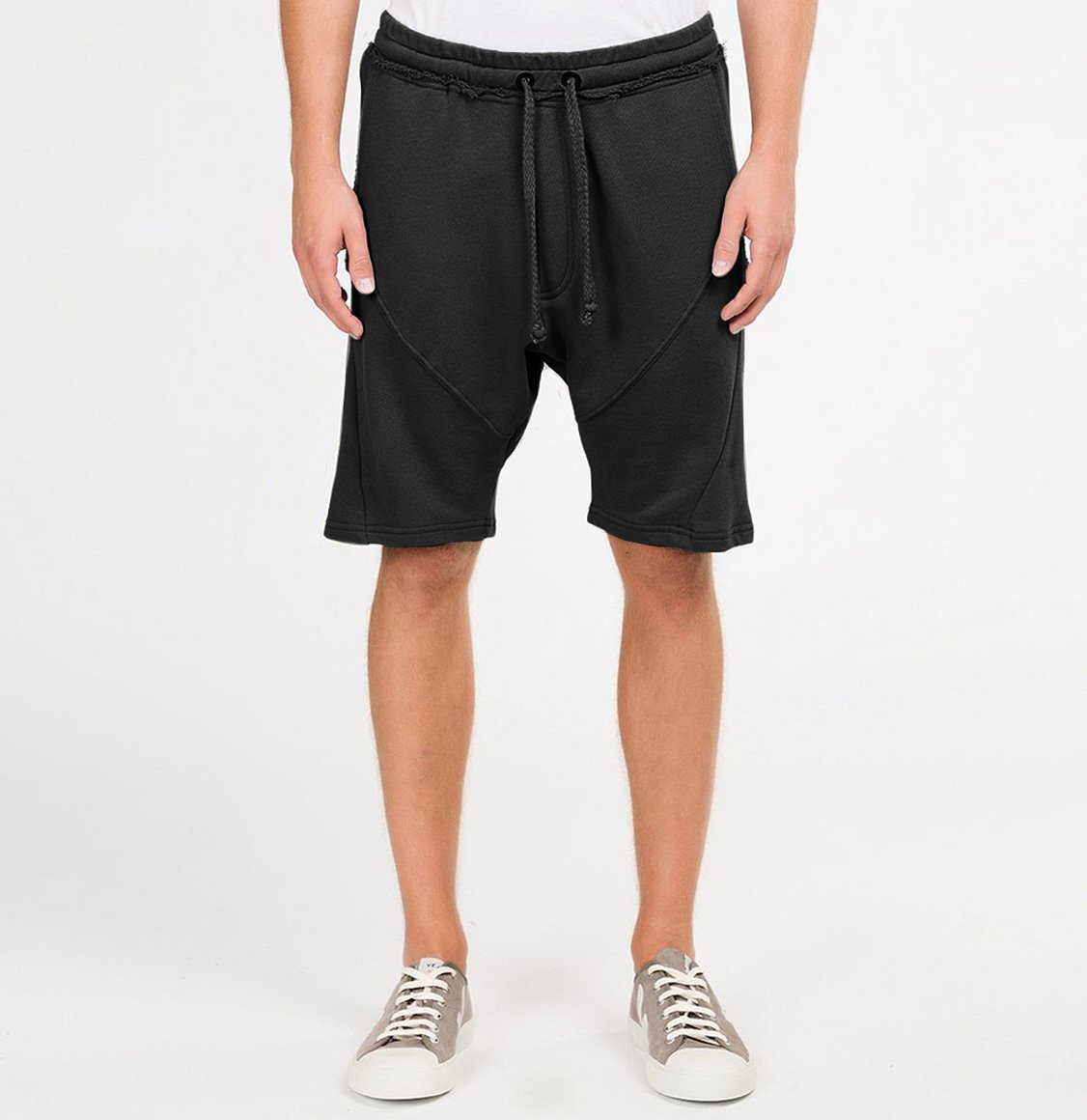 The Project Garments Organic Cotton Sweatshorts Black