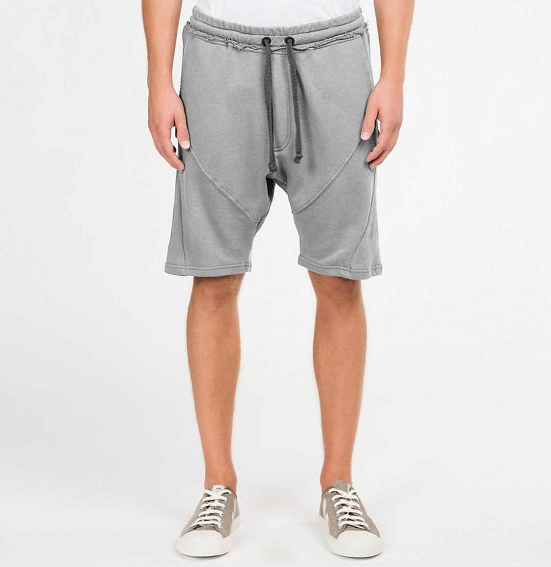 The Project Garments Organic Cotton Sweatshorts Grey Melange
