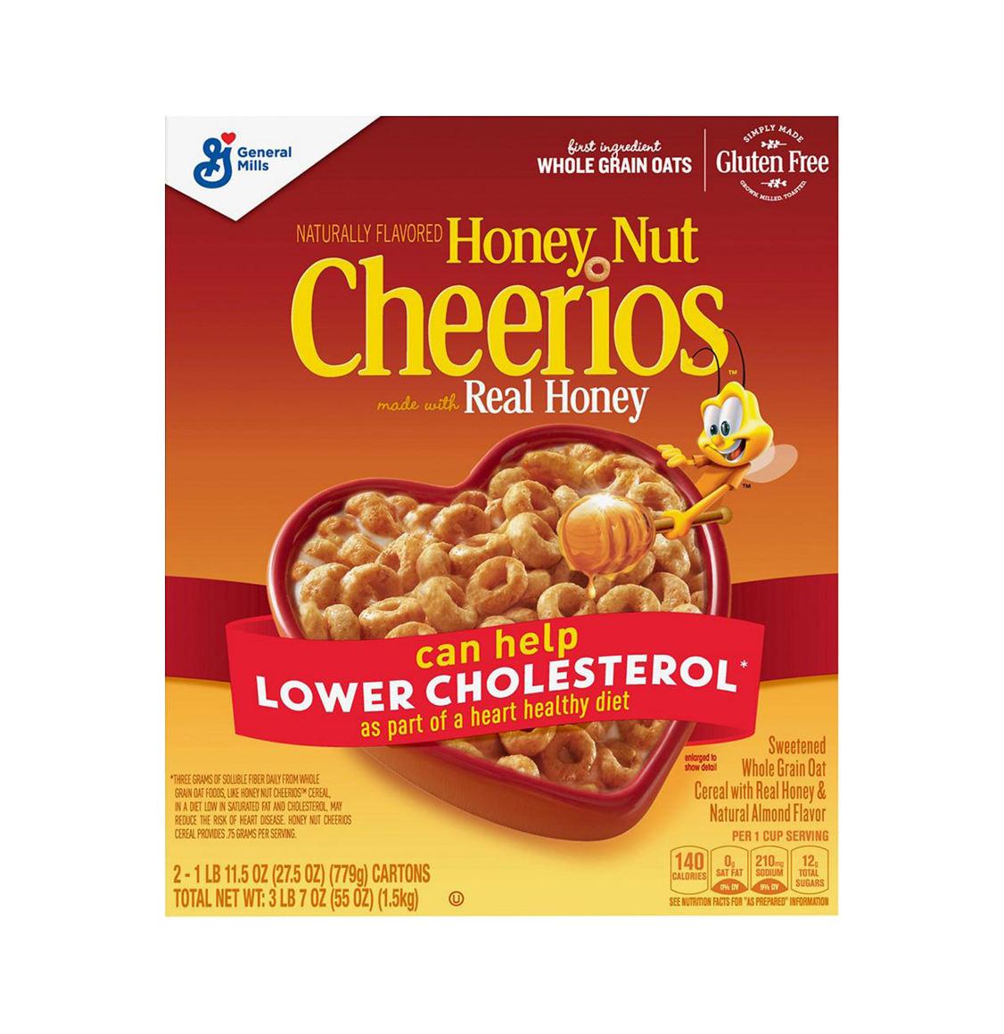 Honey Nut Cheerios General Mills 306g