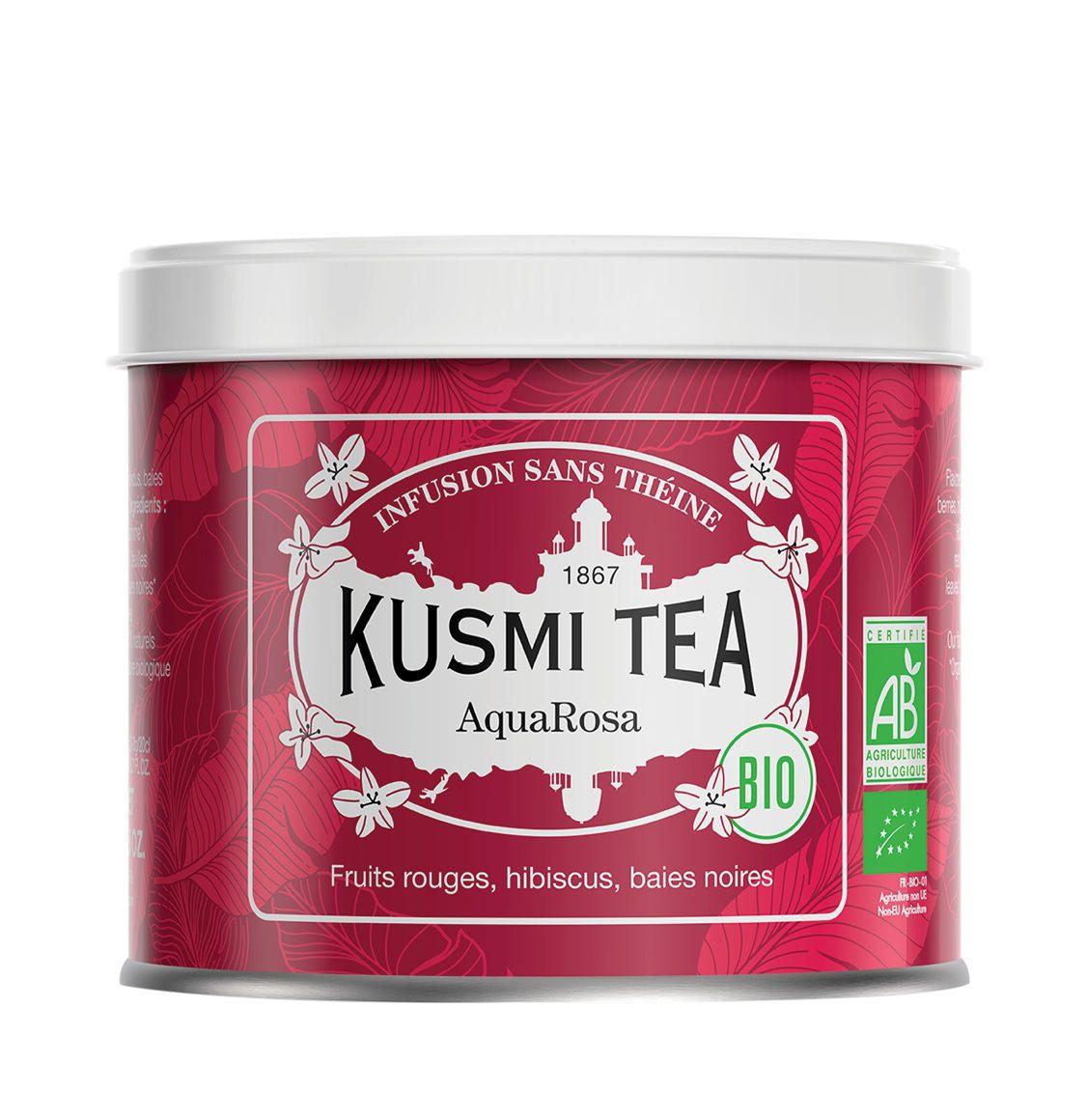 Kusmi Organic AquaRosa Loose Tea BIO 100g
