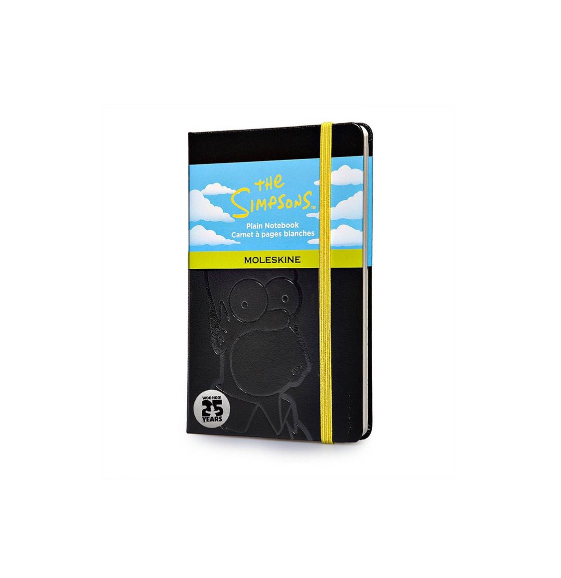 Moleskine The Simpsons Limited Edition Pocket Plain Notebook Black
