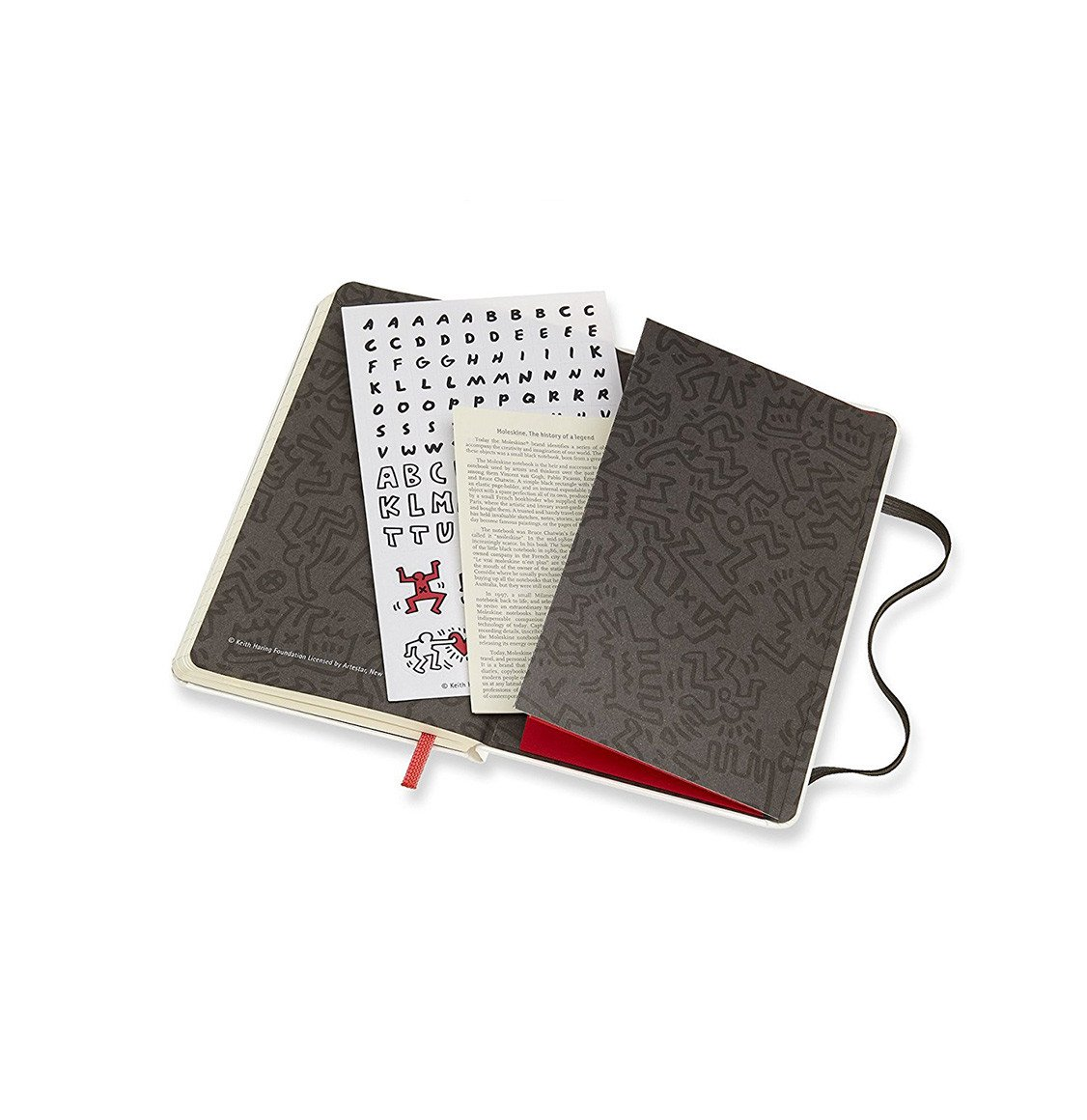 Moleskine Special Edition Notebook Keith Haring Pocket Ruled White