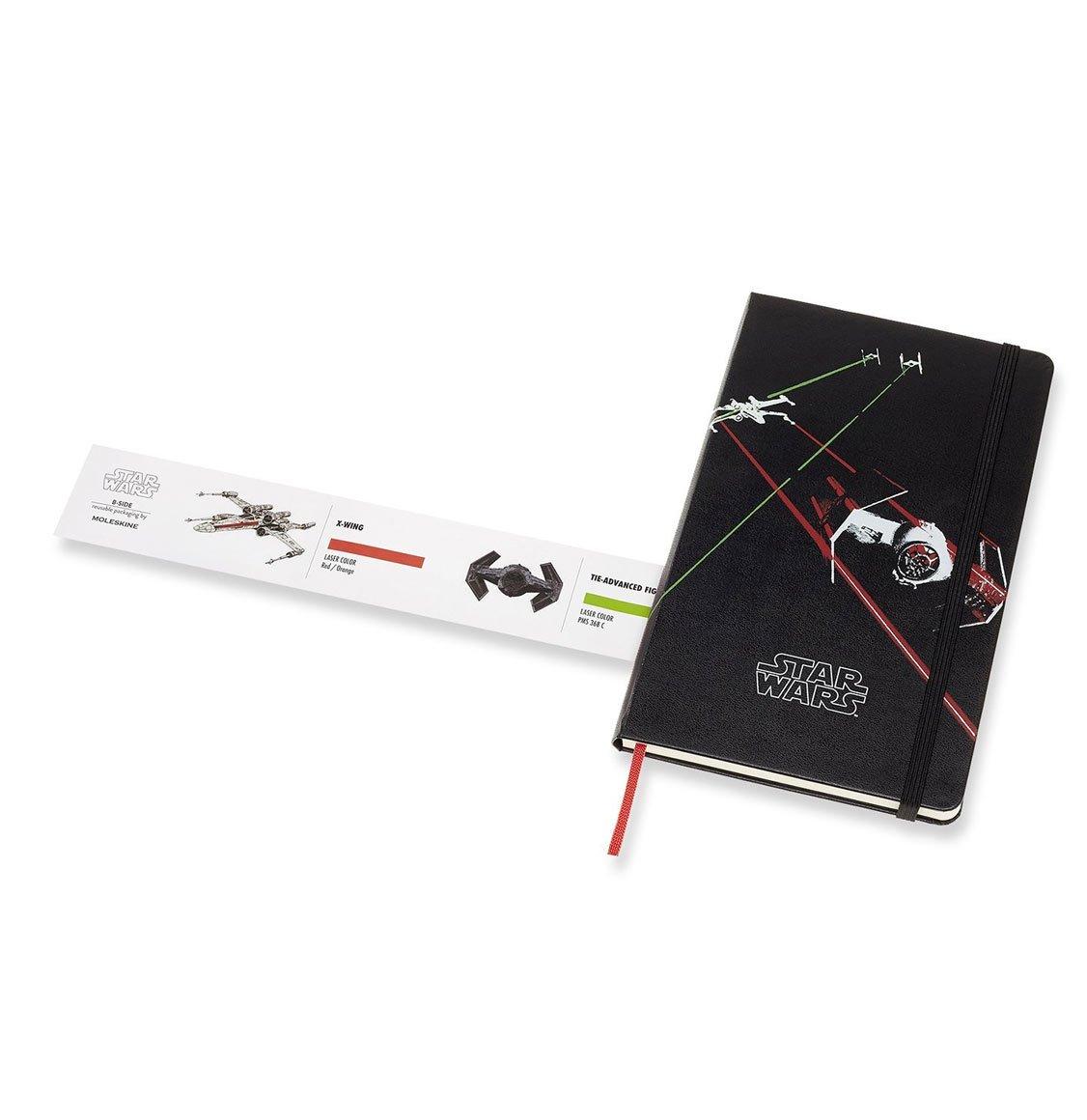 Moleskine Star Wars Limited Edition Large Ruled Black