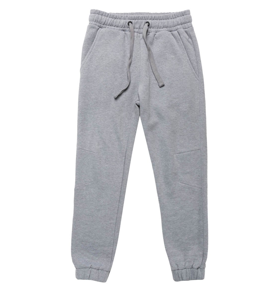 The Project Garments Regular Fit Cotton Sweatpants Melange Grey