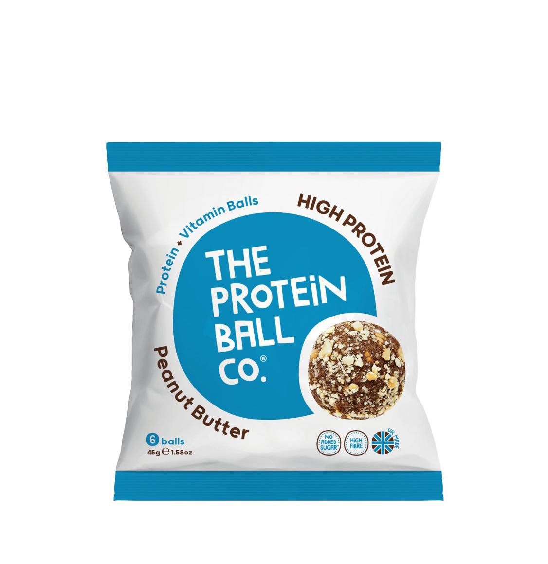 The Protein Ball Co. Peanut Butter High Protein Balls 45g