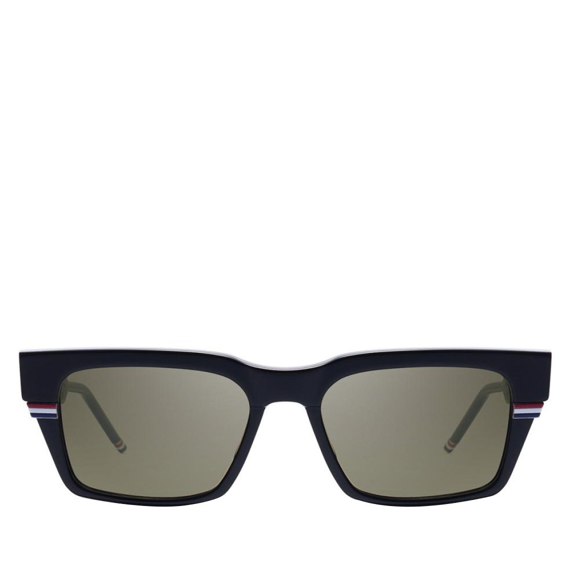 Thom Browne 52 Square Frame Black Sunglasses Γυαλιά Ηλίου