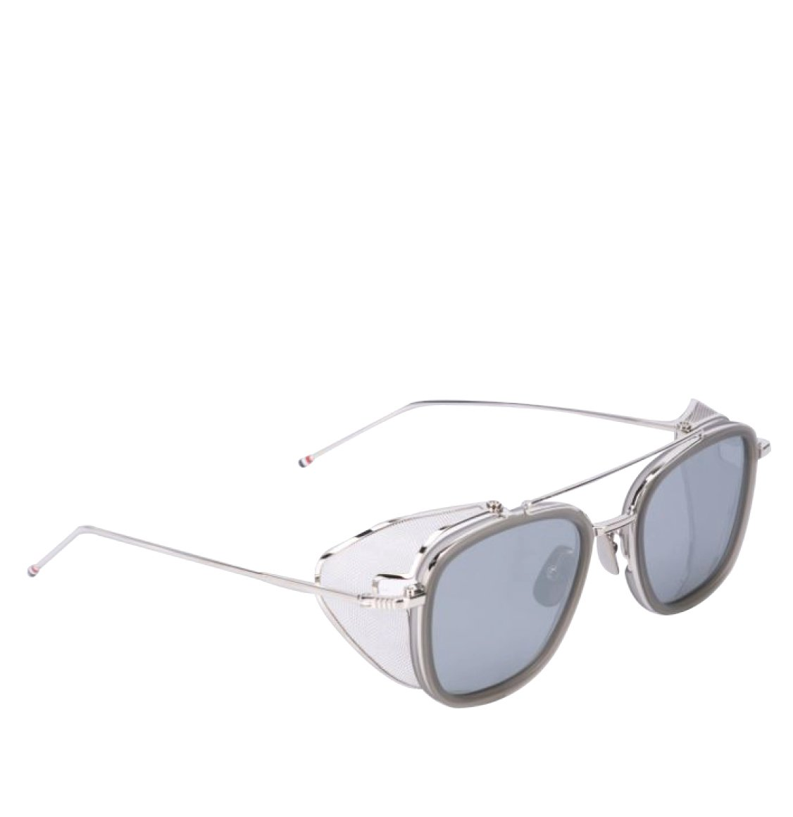 Thom Browne 51 Grey Silver Aviator Sunglasses Γυαλιά Ηλίου