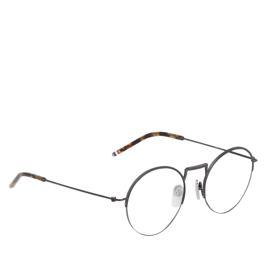 Thom Browne Black Iron Hingless Round Shape Optical Glasses Γυαλιά Οράσεως