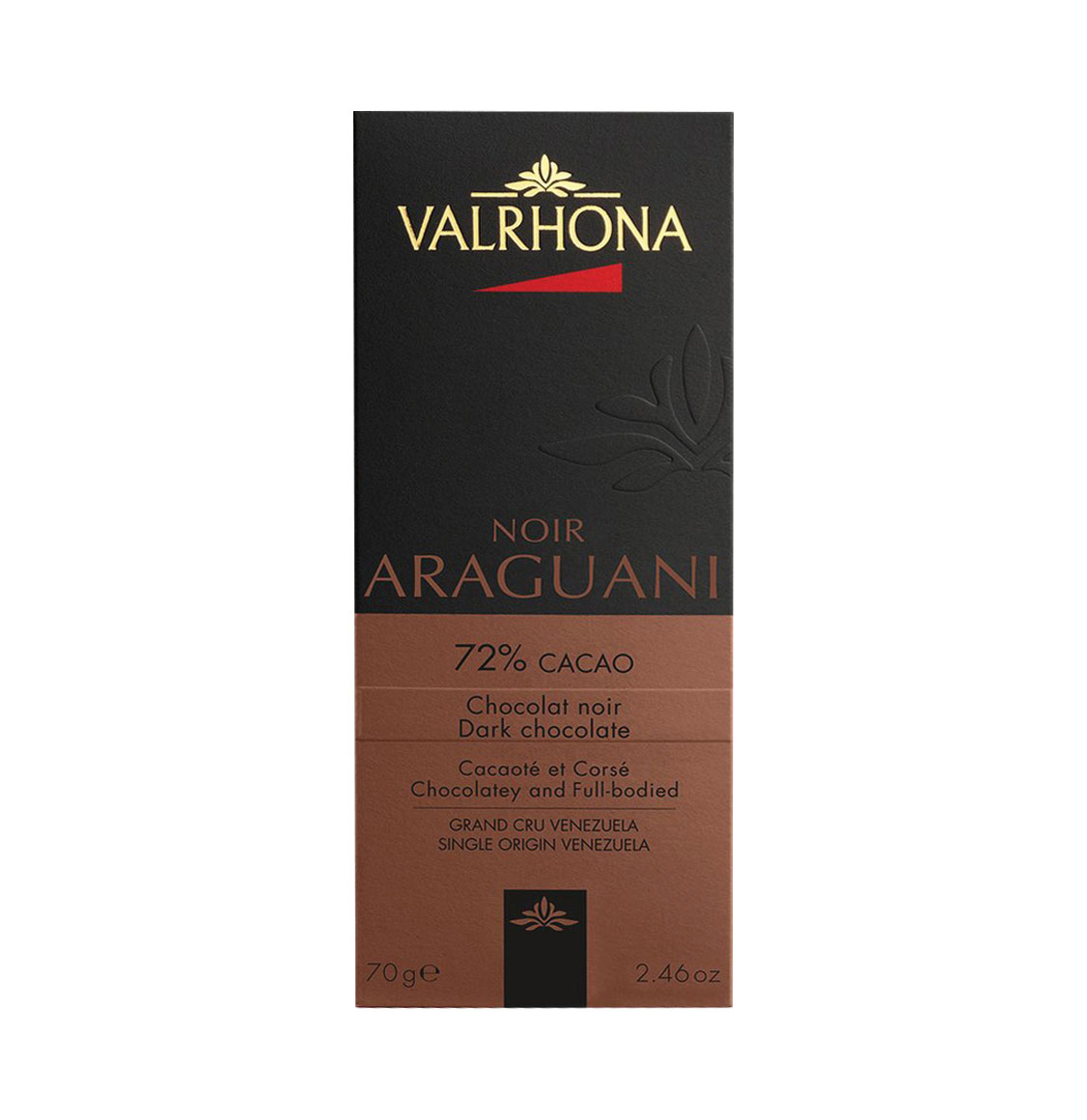 Valrhona Araguani Full Bodied Dark Chocolate 70g