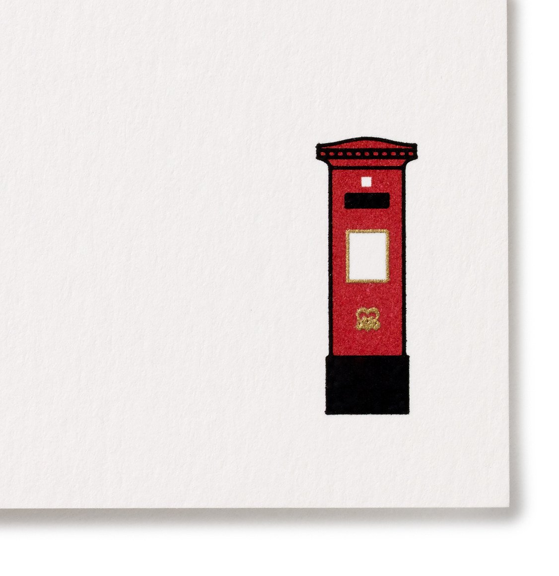 Smythson British Postbox Correspondence Cards