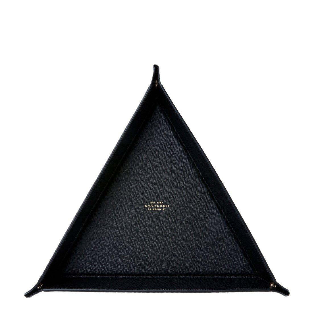 Smythson Panama Triangle Trinket Tray