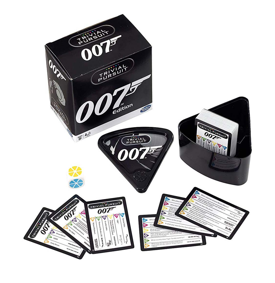 Trivial Pursuit James Bond 007 Bitesize Winning Moves English Edition