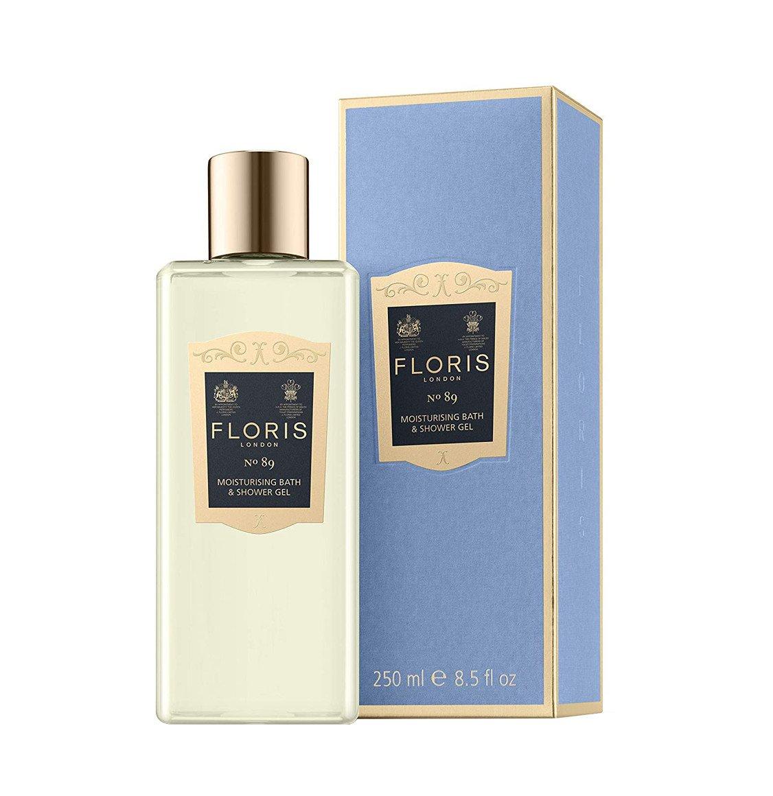 Floris London No. 89 Moisturising Bath And Shower Gel 250ml