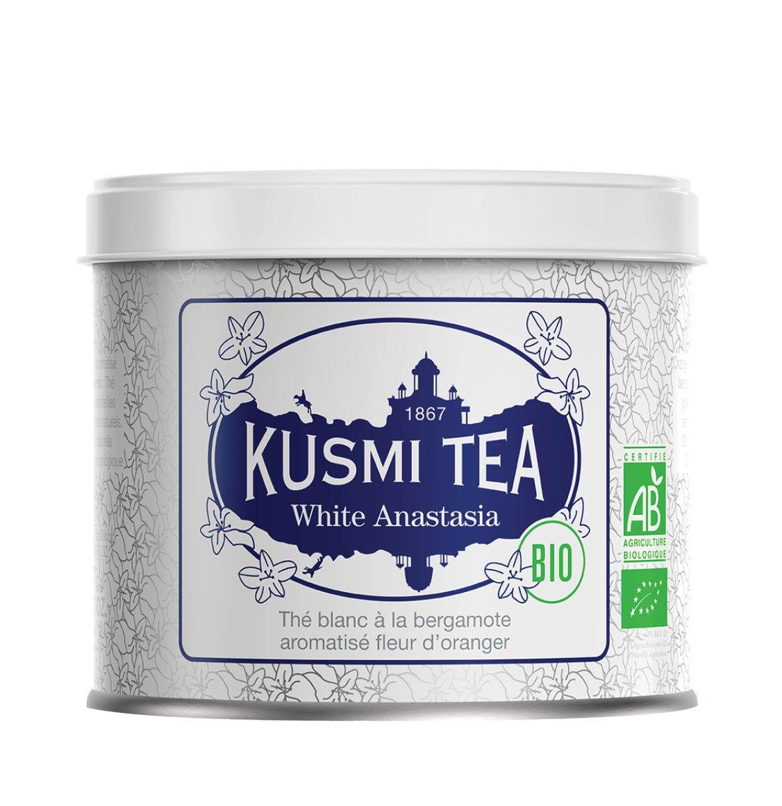 Kusmi Organic White Anastasia Loose Tea 90g