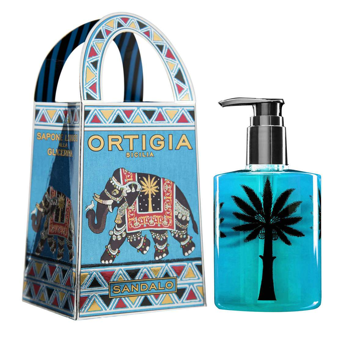Ortigia Sicilia Sandalwood Liquid Soap 300ml