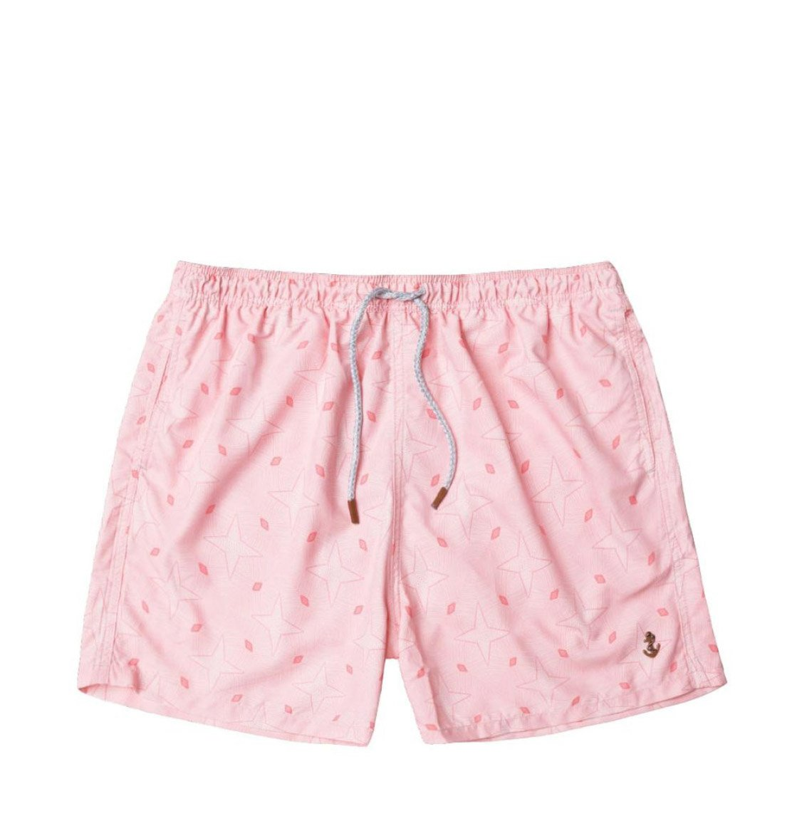 Retromarine Stars Pink Swim Shorts