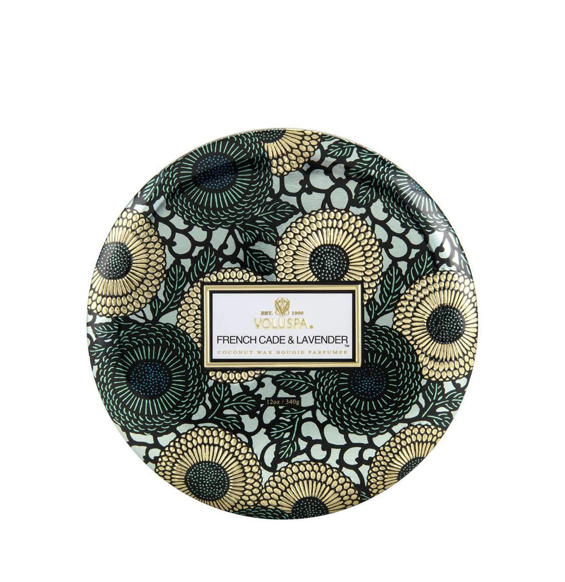 Voluspa French Cade And Lavender 3 Wick Candle 340g