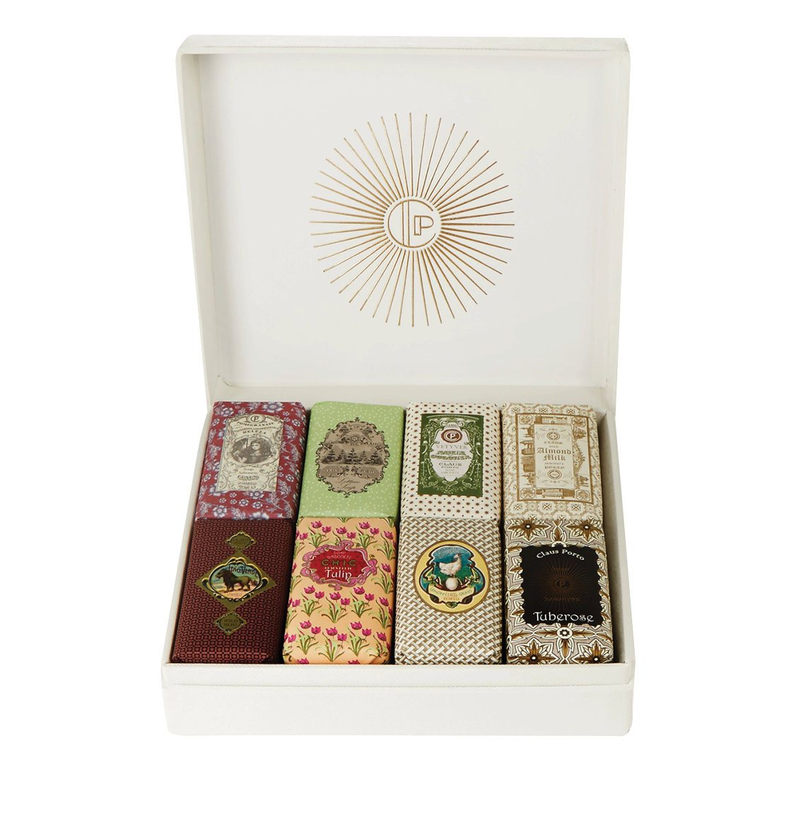 Claus Porto Gift Box Classico Eight Mini Soaps 8 x 50g