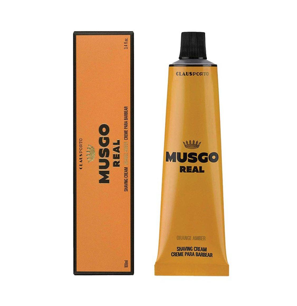 Claus Porto Musgo Real Orange Amber Shaving Cream 100ml