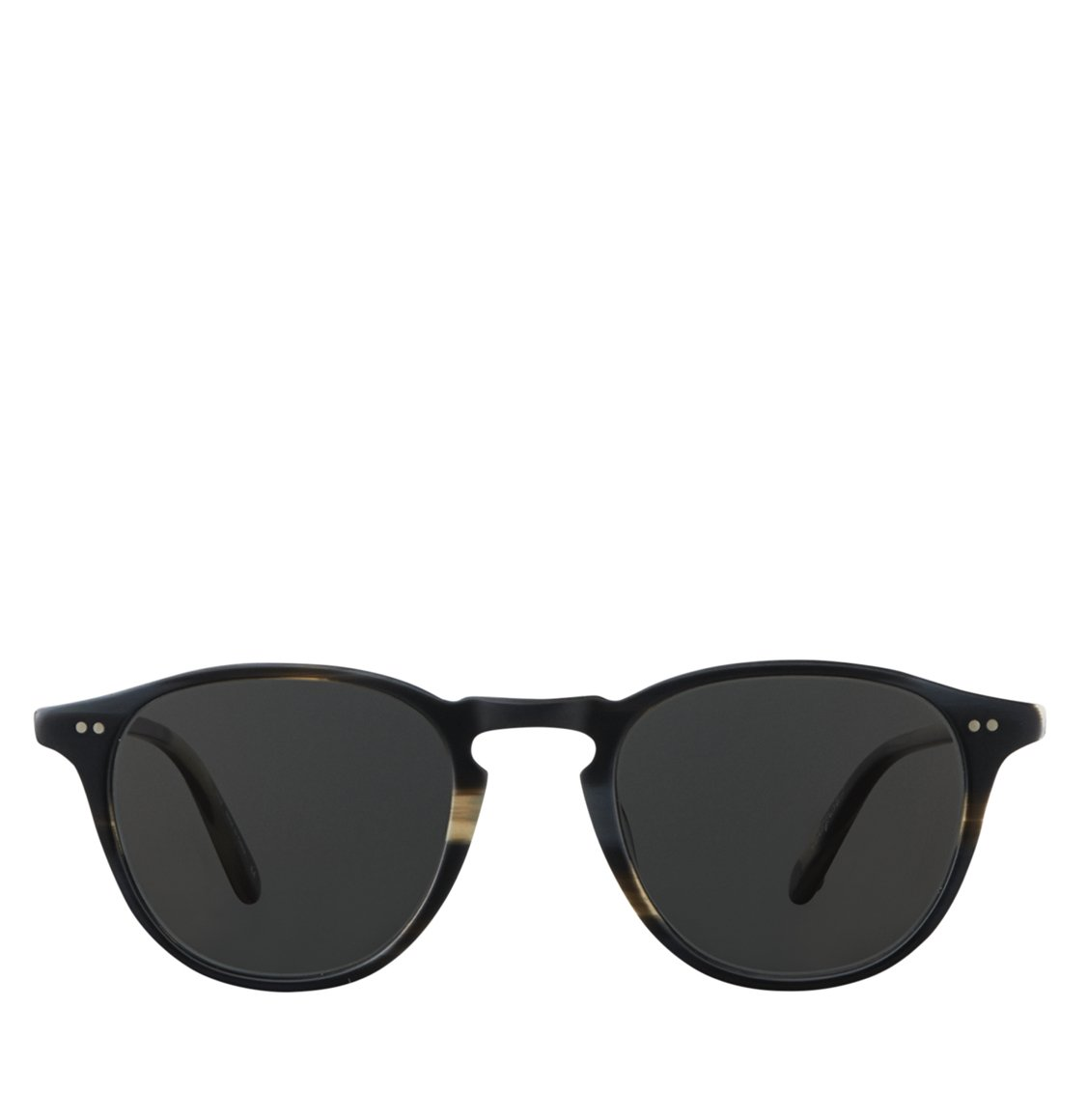 Garrett Leight Square Black Tortoise Acetate Γυαλιά Ηλίου
