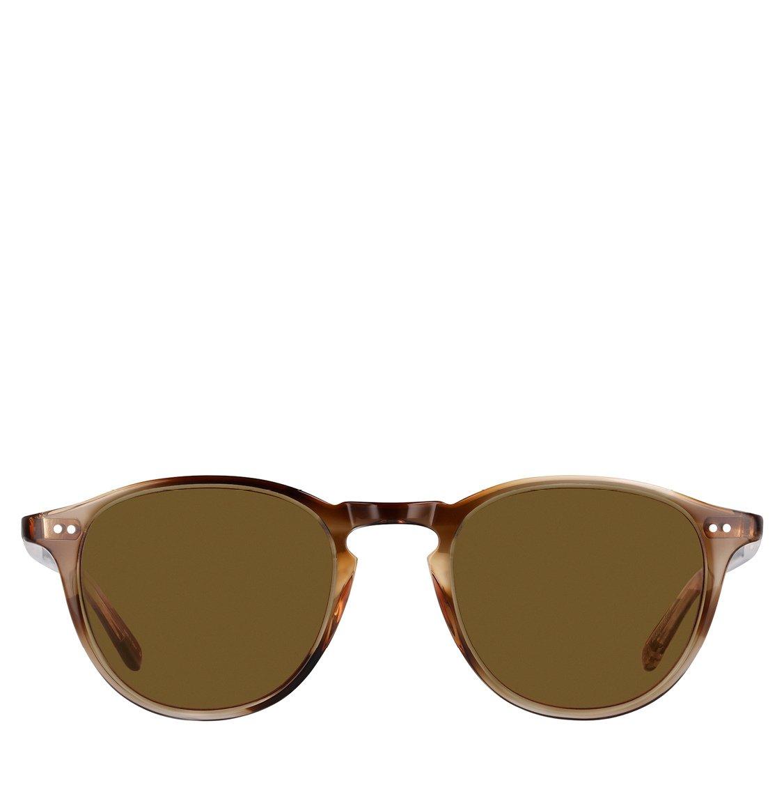 Garrett Leight Square Khaki Tortoise Acetate Γυαλιά Ηλίου