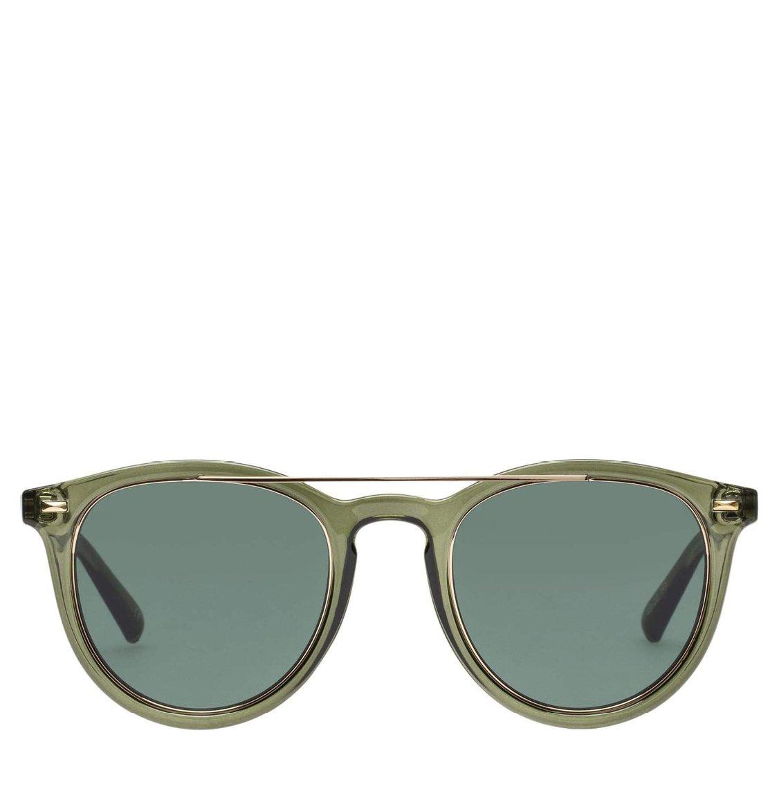 Le Specs Round Khaki Γυαλιά Ηλίου