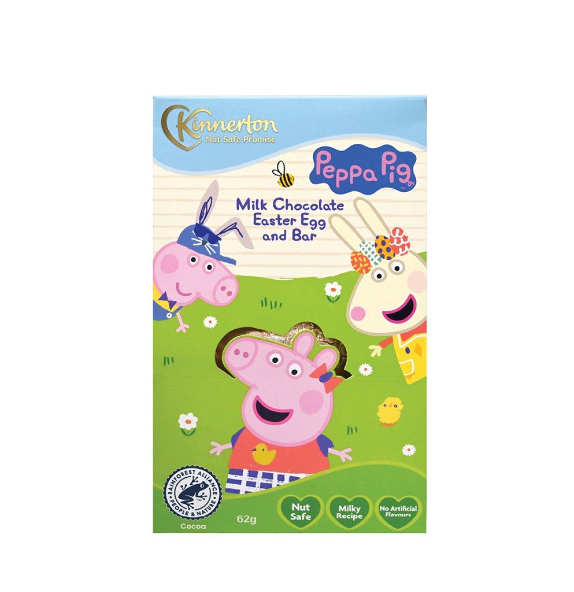 Kinnerton Peppa Pig Easter Egg 62g