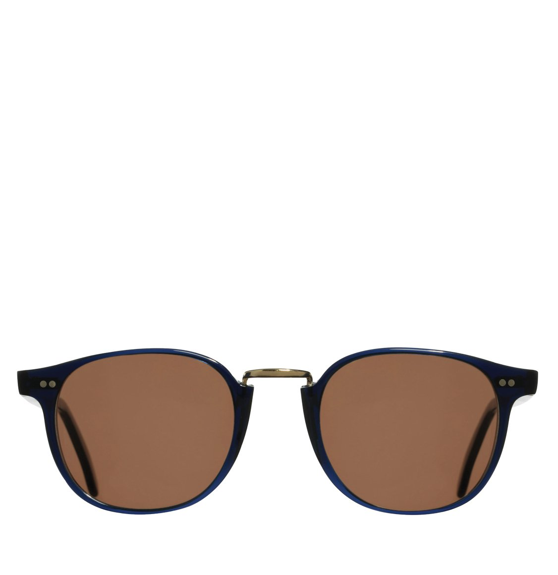 Cutler and Gross Round-Frame Classic Navy Blue Acetate Γυαλιά Ηλίου