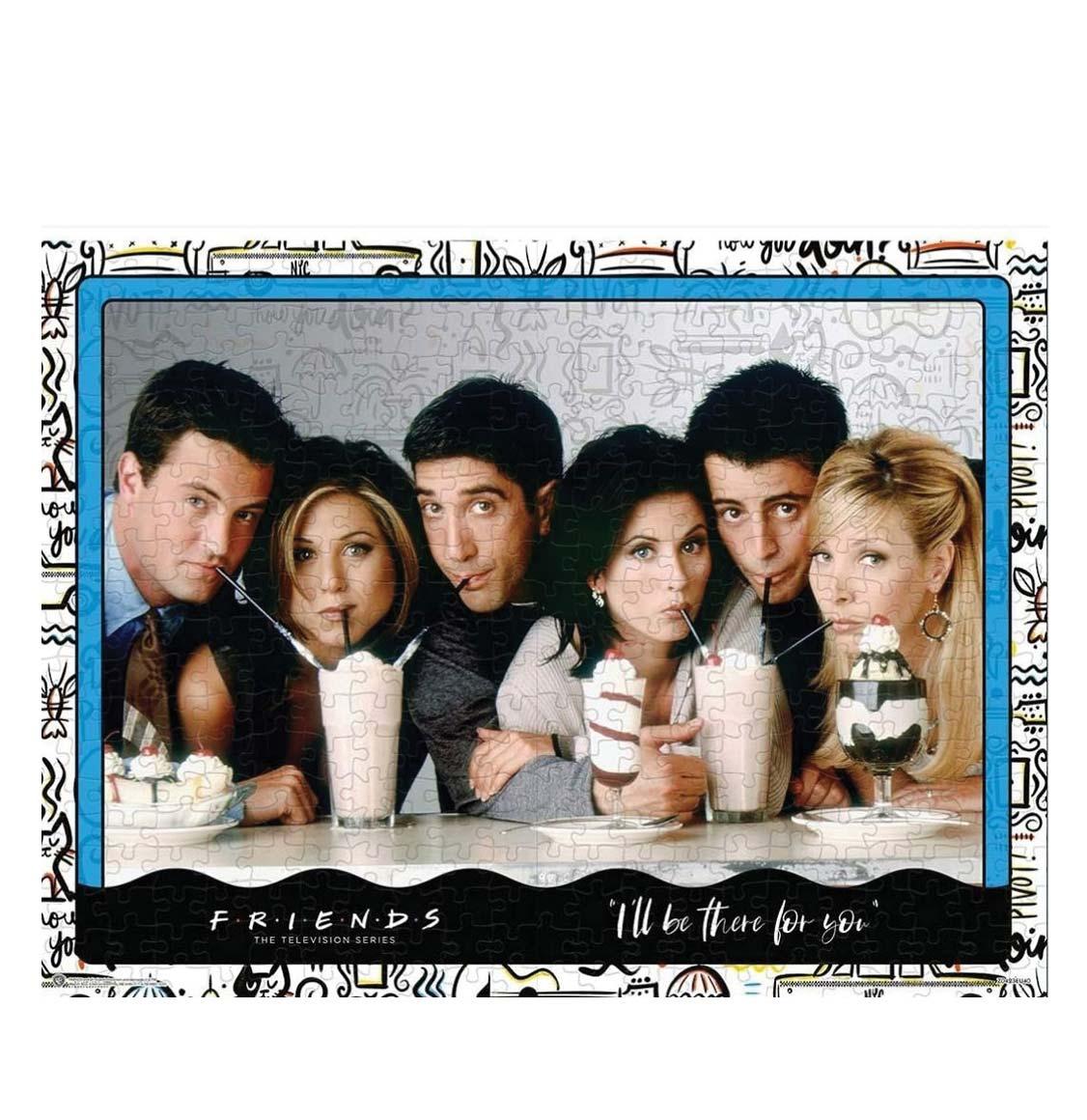Winning Moves Puzzle Friends The TV Series Milkshake 1000 Pieces