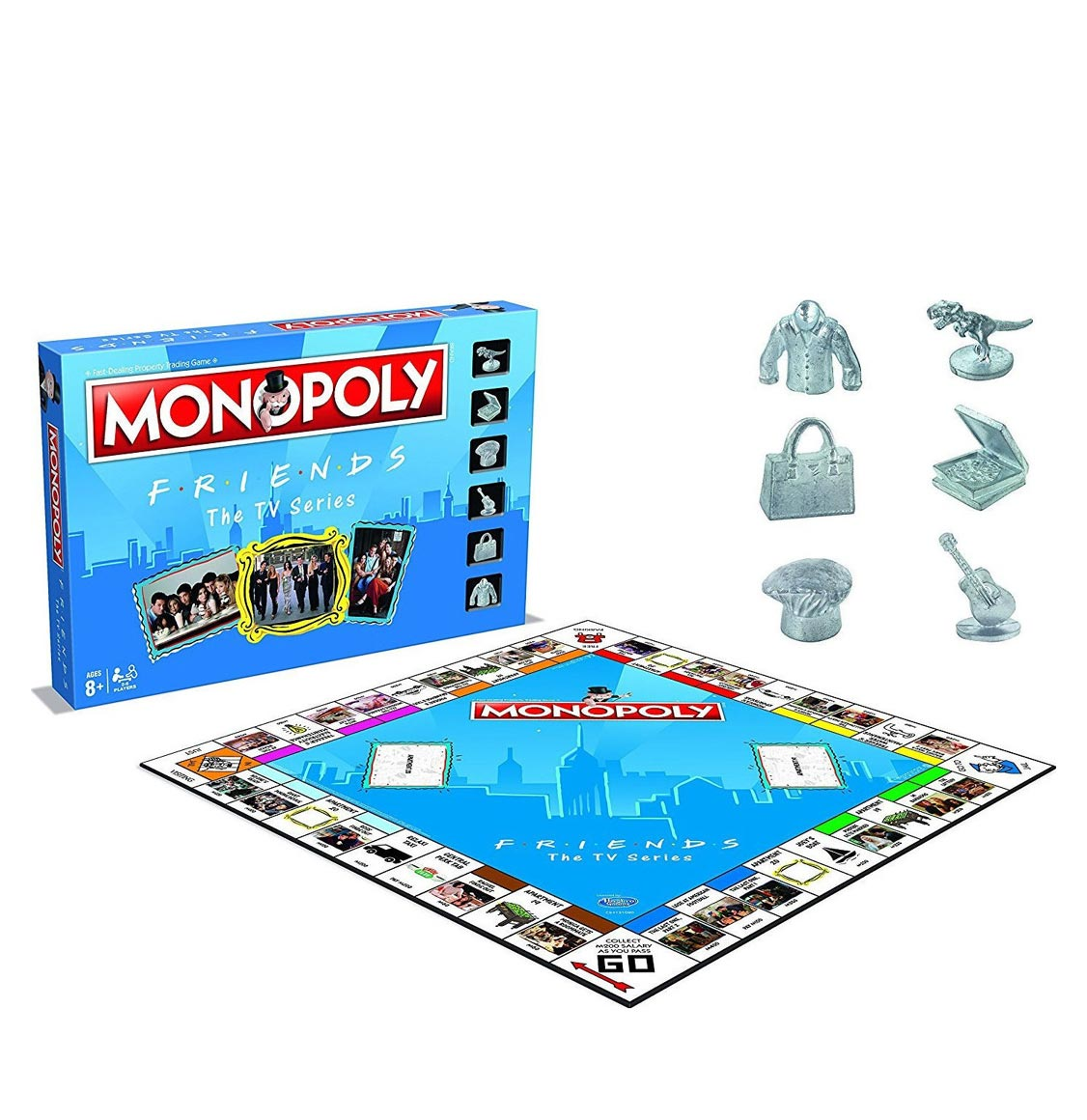 Monopoly Friends The TV Series Winning Moves English Edition