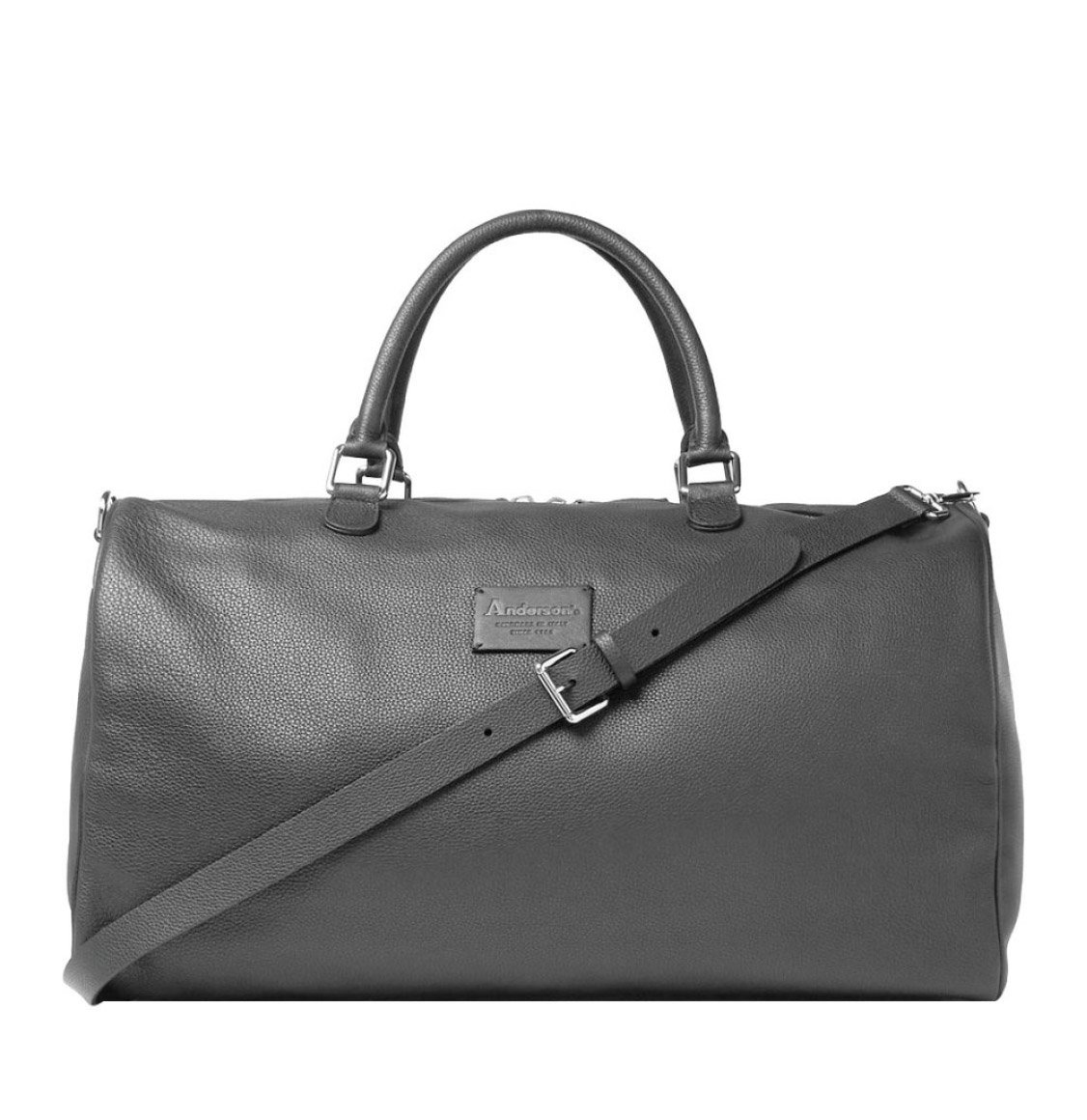 Anderson's Full-Grain Holdall All Leather